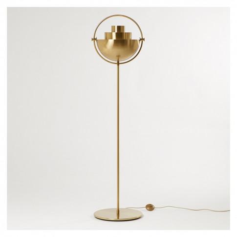 Multi-Lite Floor Lamp Brass