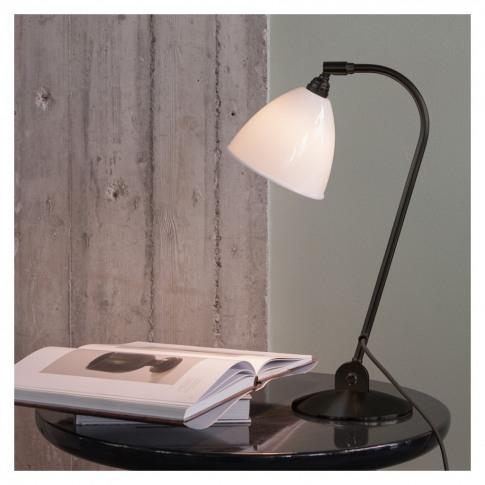 Bestlite BL2 Table Lamp Black, Brass & Bone China