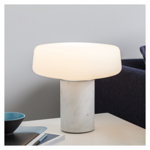 Solid Marble Table Lamp Small