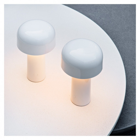 Bellhop Table Lamp White