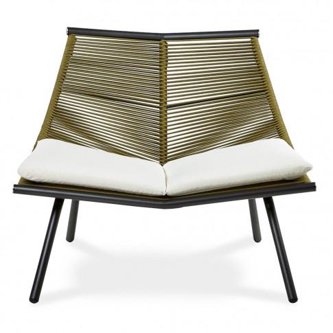 Laze 001 Lounge Chair Smoke & Olive