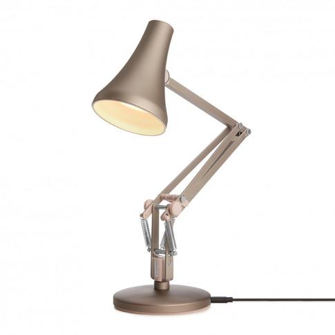 90 Mini Mini Desk Lamp Warm Silver