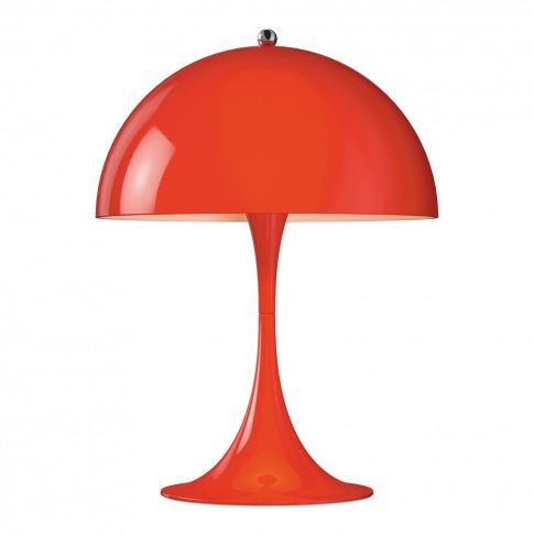 Panthella Mini Table Lamp Red