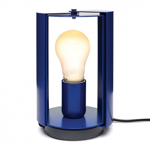 Pivotante A Poser Table Lamp Blue
