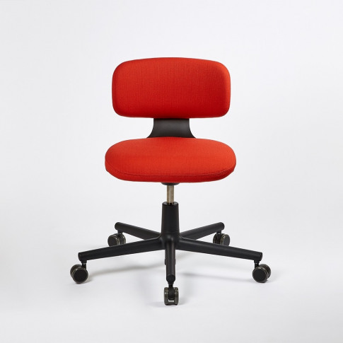 Rookie Office Chair Deep Black Base & Volo Upholstery
