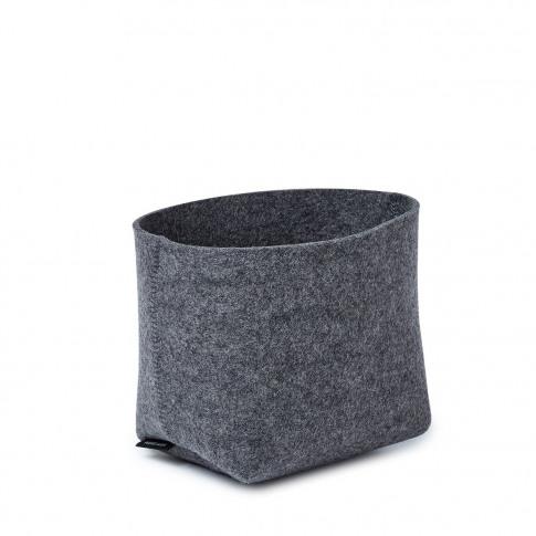 Silo Planter Basket Anthracite Small