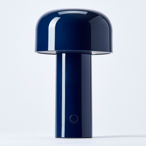 Bellhop Table Lamp Blue