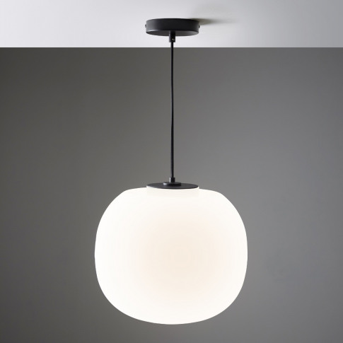 Small Flo Pendant Light In Frost