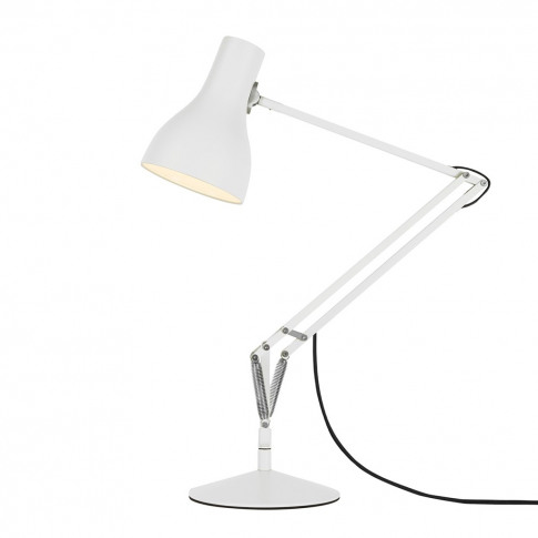 Type 75 Desk Lamp Alpine White