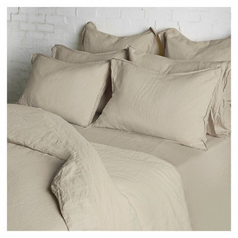 Linen Duvet Cover King Size Natural