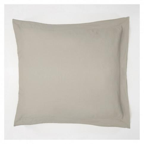 Linen Oxford Pillowcase Natural