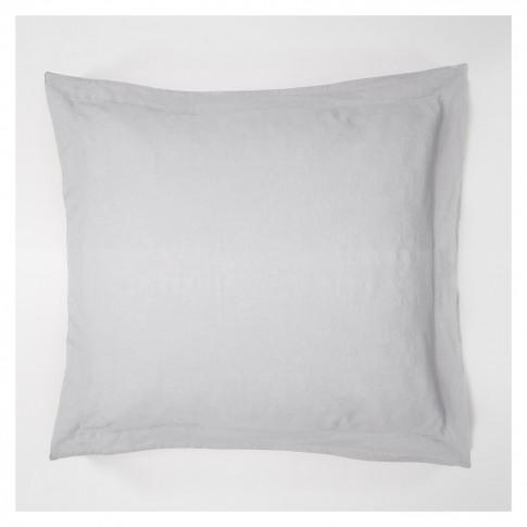 Linen Oxford Pillowcase Blue Grey