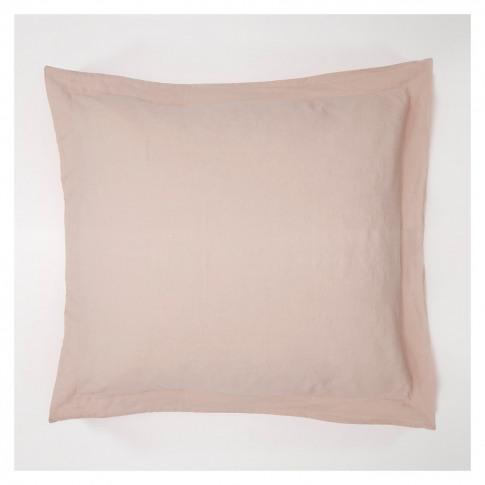 Linen Oxford Pillowcase Soft Pink