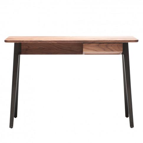 Orson Compact Desk Walnut