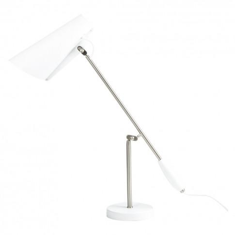 Birdy Table Light White & Metallic