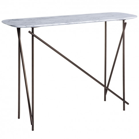 Workshop Console Table Marble High