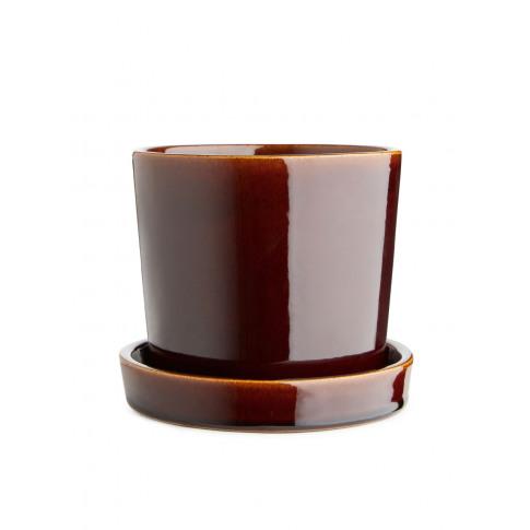 Terracotta Flower Pot 12 Cm - Red