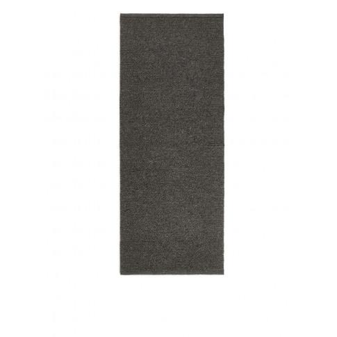 Wool Rug 70 X 180 Cm - Grey