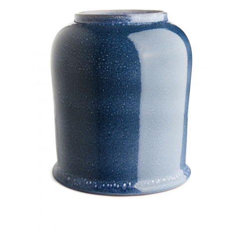 Terracotta Vase 27 Cm - Blue