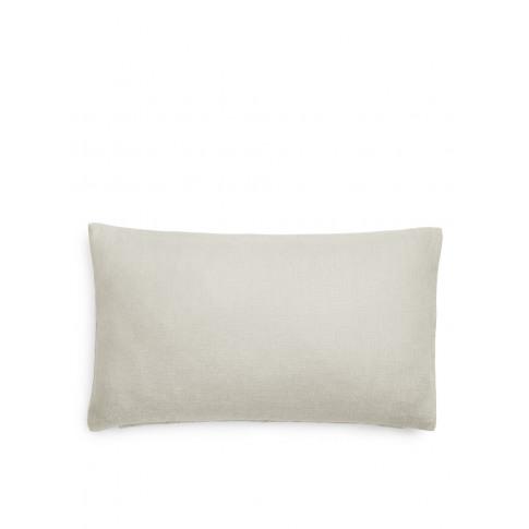 Linen Lumbar Cushion Cover - Beige
