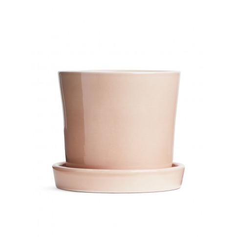 Terracotta Flower Pot 12 Cm - Pink