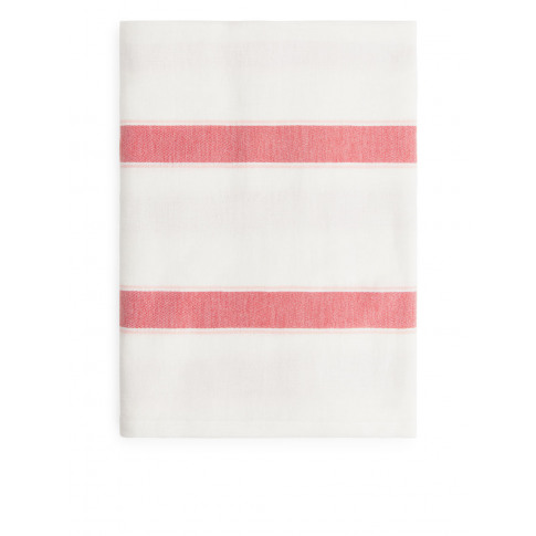 Cotton Linen Beach Blanket - Pink