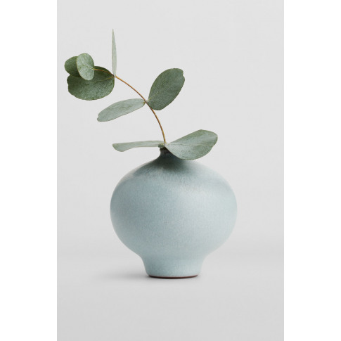 Terracotta Vase 9.5 cm - Blue