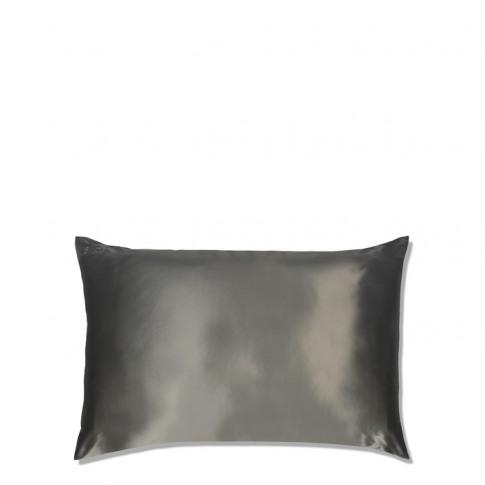 Slip Silk Pillowcase Charcoal
