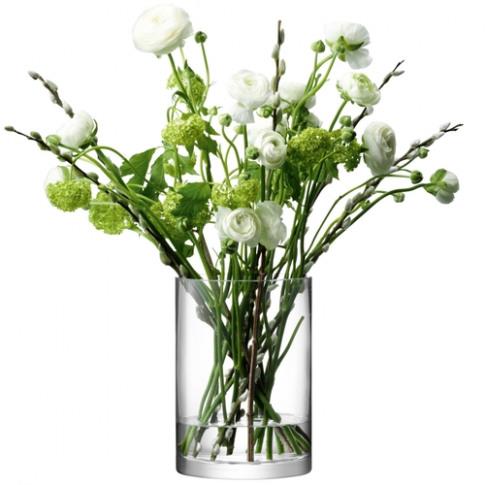 LSA International Column Vase-candleholder H24 X D17...
