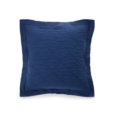 Lexington Quilt Cushion 65x65 Blue