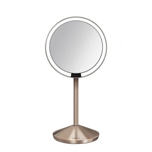 Simplehuman 12cm Sensor Mirror - Rose Gold