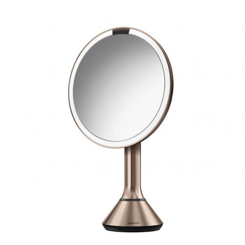 Simplehuman 20cm Sensor Mirror - Rose Gold