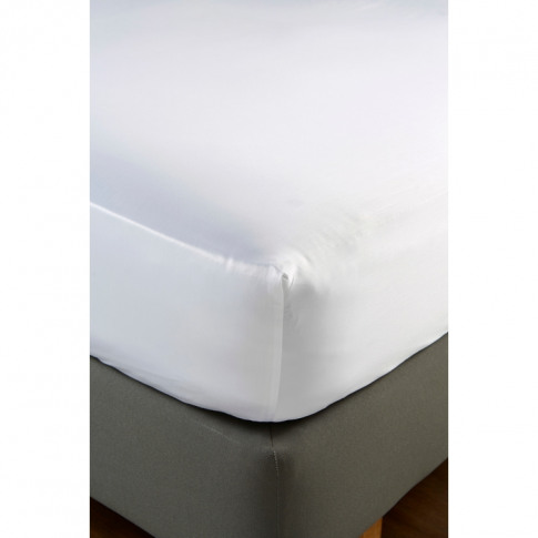 Christy 900tc Picot Super King Fitted Sheet White
