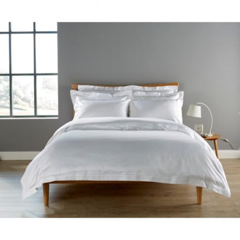 Christy 900tc Picot King Pillowcase White