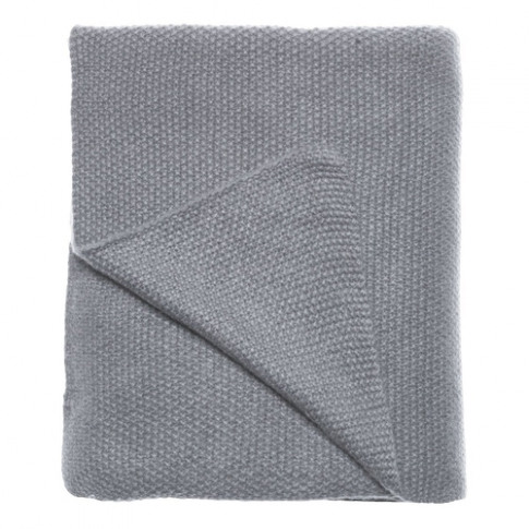 Care By Me Mid Grey Freja Cashmere Throw