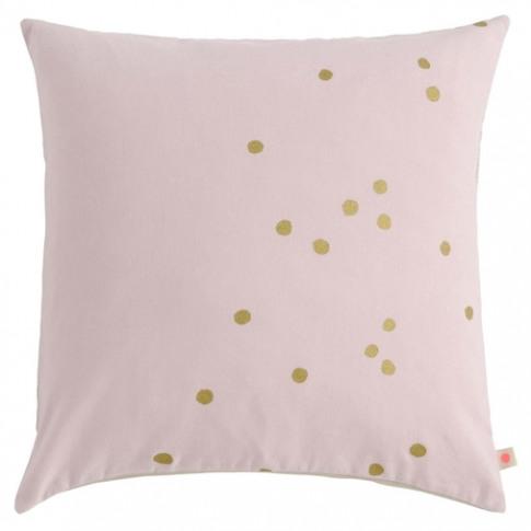 La Cerise Sur La Gateau Lina Biscuit Cushion Gold Dots