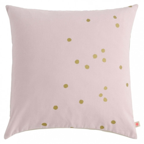 La Cerise Sur La Gateau Lina Biscuit Cushion Gold Dots