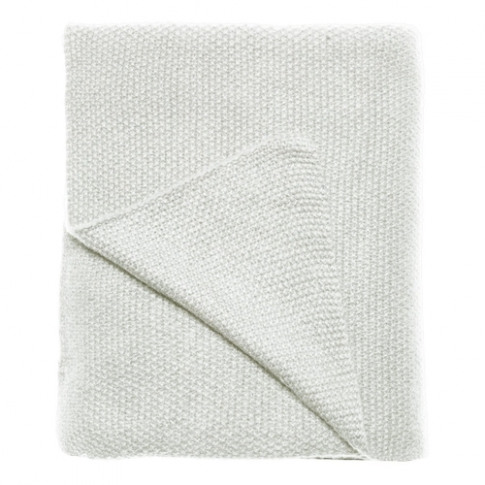 Care By Me Off White Freja Cashmere Throw