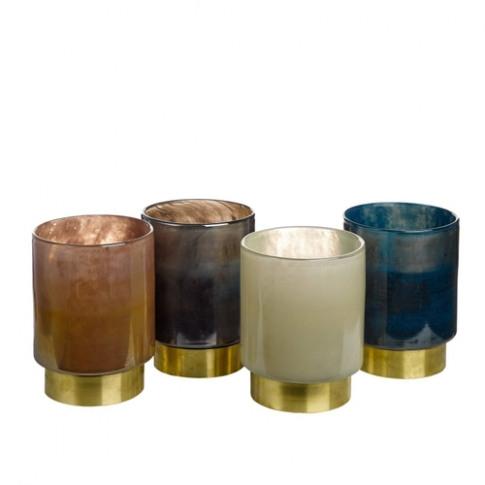 Pols Potten Belt Candle Holder Set Of 4 Medium