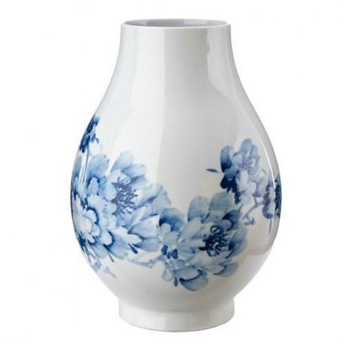 Pols Potten Blue Peony Vase