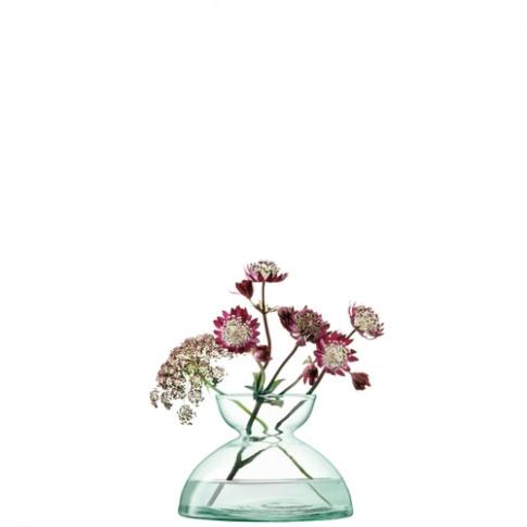 Lsa International Canopy Vase H9.5cm Clear