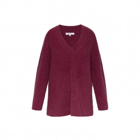 Gerard Darel Oversized Mohair-Blend Shade Sweater