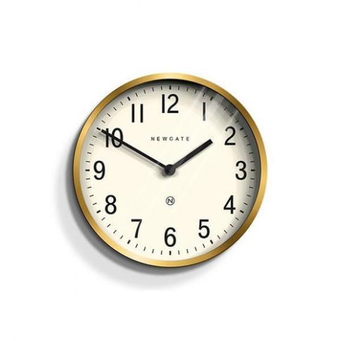 Newgate Copper & Navy Blue Wall Clock