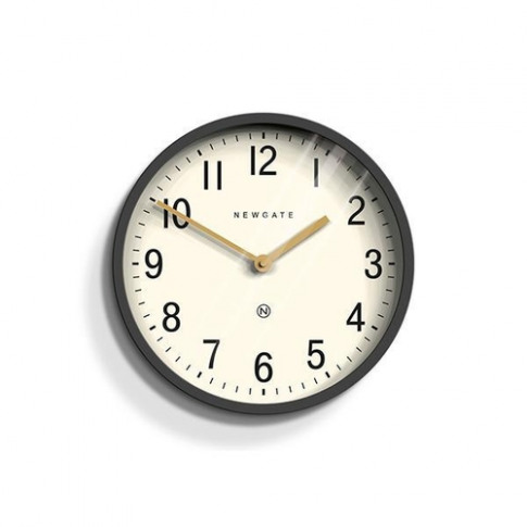Newgate Dark Grey Wall Clock - Small
