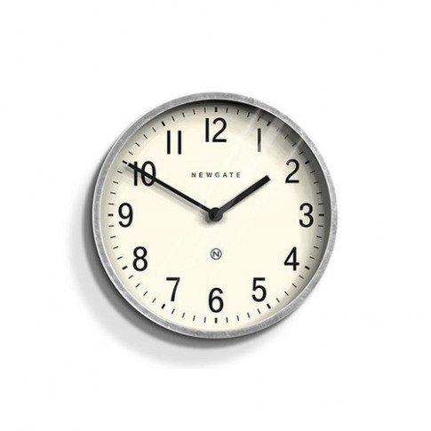 Newgate Industrial Galvanised Metal Wall Clock