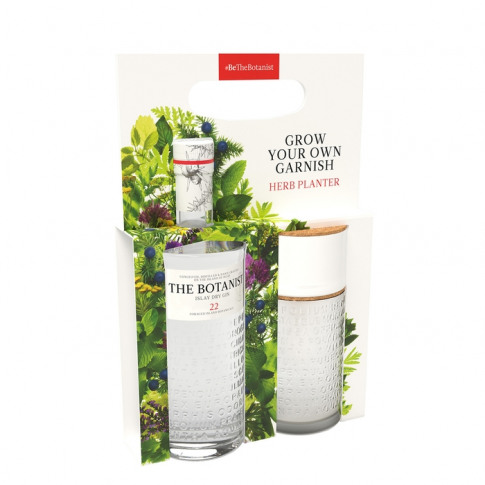 The Botanist Islay Dry Gin & Herb Planter Gift Pack