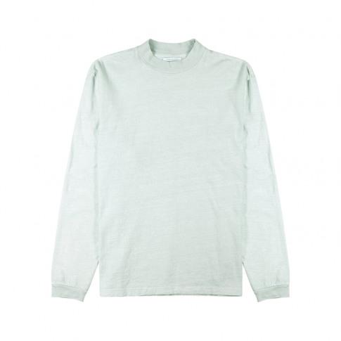 John Elliott Mock Mint Slubbed Cotton Top