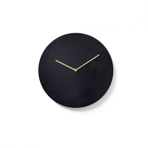 Menu Wall Clock Bronzed Brass