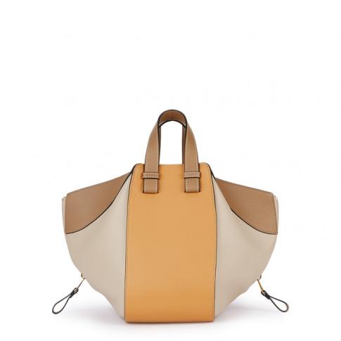 Loewe Hammock Small Panelled Leather Bag