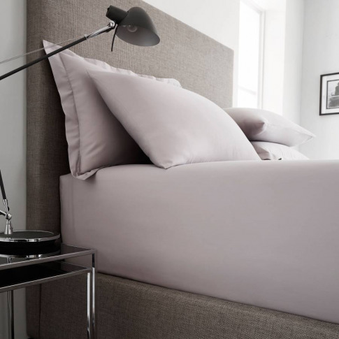 Pair of Oxford Pillowcases Silver